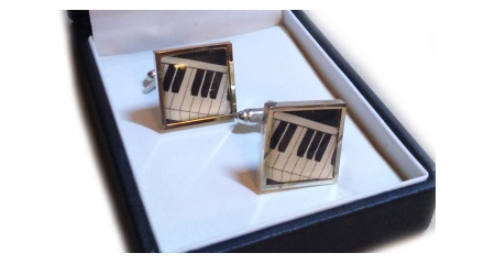 Cufflinks 2d Keyboard