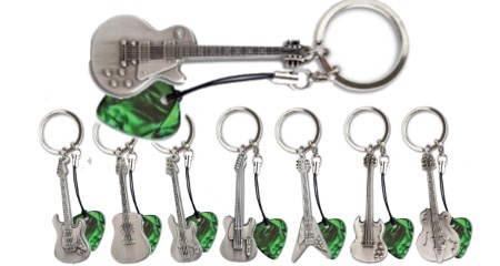 Grover Allman Guitar Keyrings