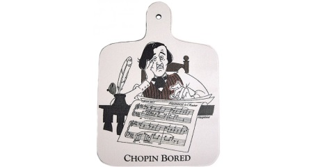 Chopin Bored - Chopping Board