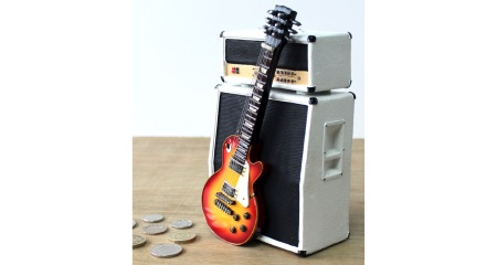 LP & Amp Shaped Moneybox