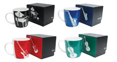 Music Themed Mug - Silhouette Series