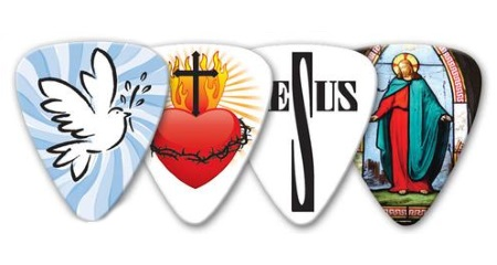 Grover Allman Christian Guitar Picks