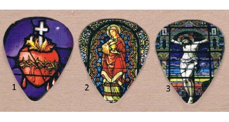 Stained Glass Guitar Picks