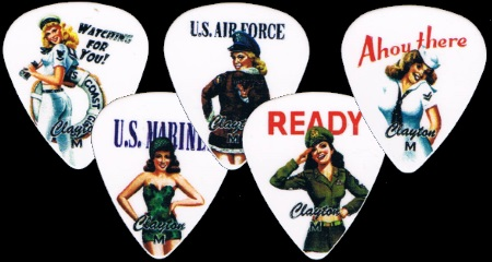 American Hotties Guitar Picks