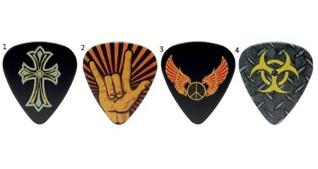Rock Fuitar Picks