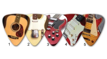 Guitar Body Picks
