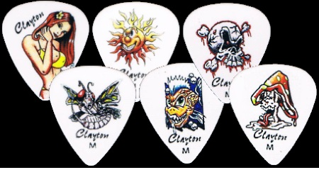 Liquid Sun Guitar Picks