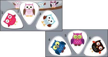 Owlz Guitar Picks