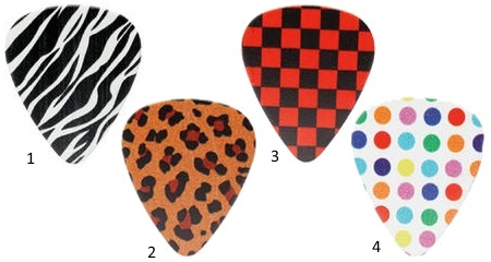 Pattern Guitar Picks