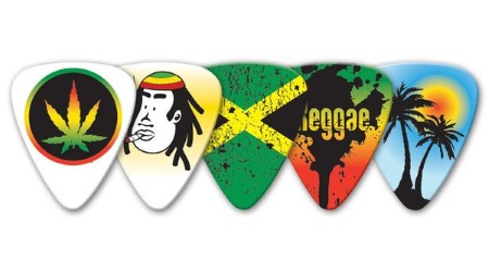 Reggae Guitar Picks