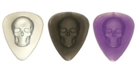 3D Skulls Guitar Picks