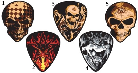 Alchamy Gothic Guitar Picks