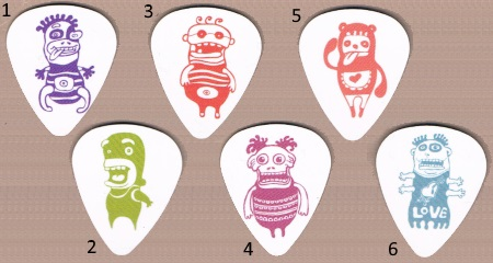 Cree-Tures Guitar Picks