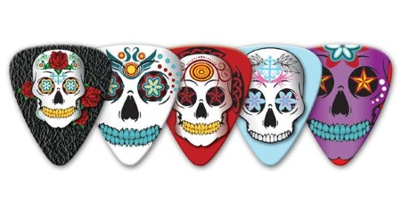 GA Sugar Skull Guitar Picks