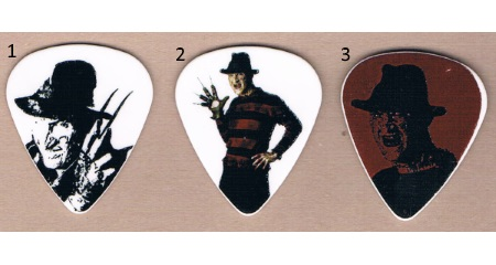 Freddy Krueger Guitar Picks