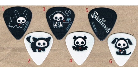 Skelanimals Guitar Picks