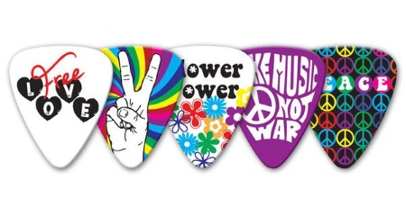 Groverallman Hippie Guitar Picks