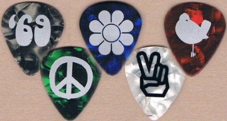 Woostock Guitar Picks
