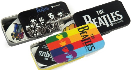 Beatles Guitar Pick Tins