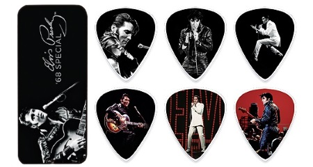 Elvis Guitar PIck Tin 68 Special