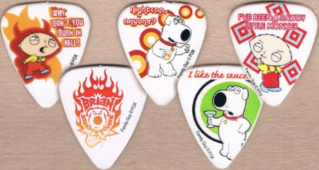 Mr Men Guitar Picks