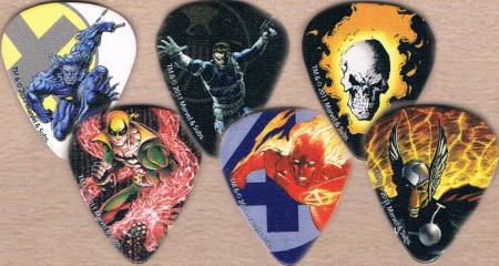 Marvel Superheroes Guitar Picks
