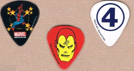 Marvel Super Women Guitar Picks