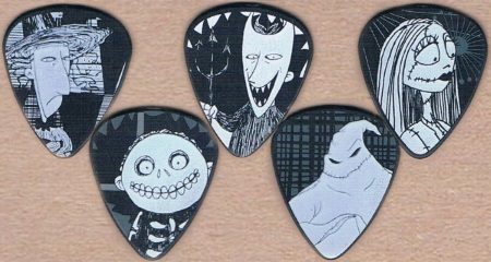 Nightmare Before Christmas Guitar Picks