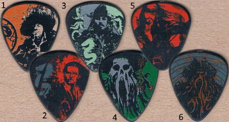 Pirates of the Caribbean Guitar Picks