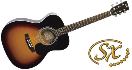 SX 3551 Sunburst Guitar