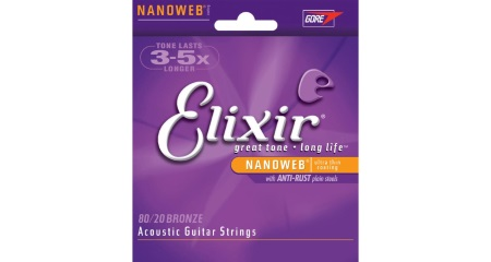 Elixer 8020 Bronze Acoustic Strings