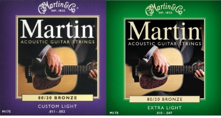 Martin 80/20 Bronze Acoustic Strings