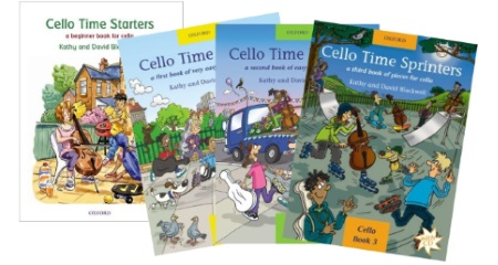 Cello Time Series - Joggers, Runners and Sprinters
