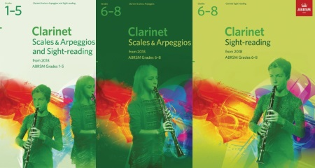 ABRSM Clarinet Scales and Sight Reading 2018-2021