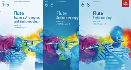 ABRSM Flute Scales and Sight Reading 2018-2021