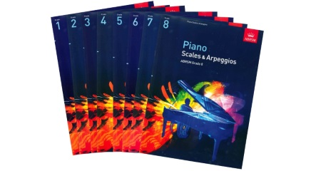 ABRSM Piano Scale Books