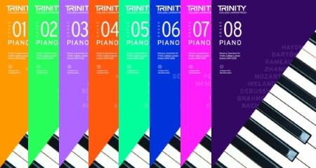 Trinity Piano Exam 2018-2020 Books