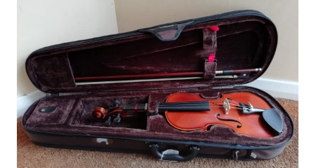 Second Hand Stentor Student Standard Violin Outfit Quater size